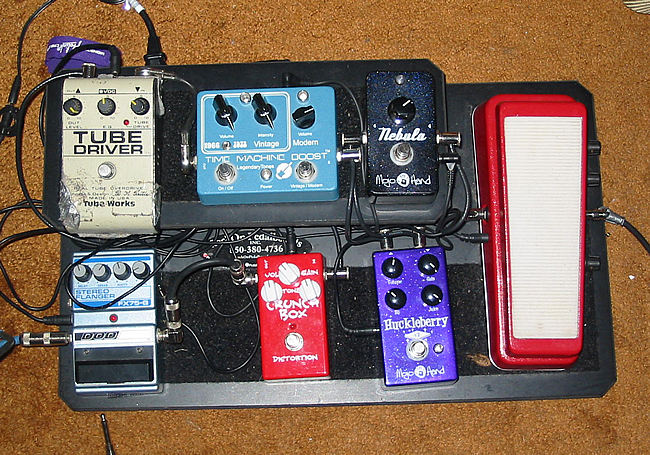 Show Us Your Pedal Board - The String Network Forums