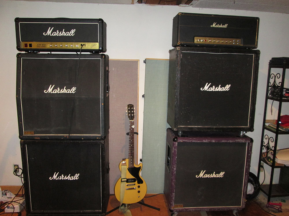 Amp placement in relation to yourself as you play | The Gear Page